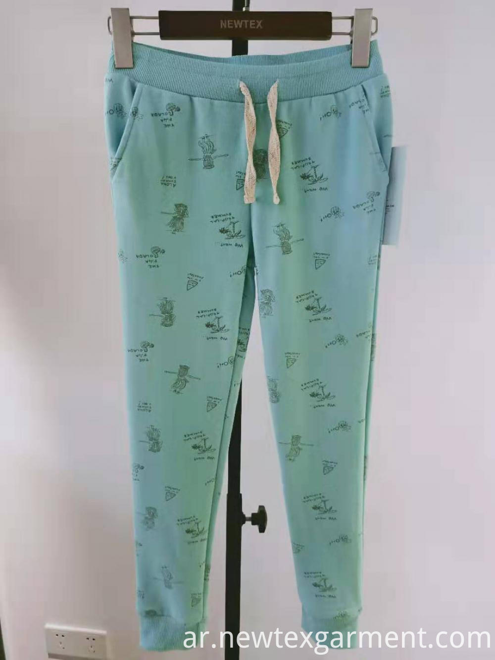 CVC printed girls pant