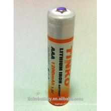 Литиевая батарея AAA 1,5 в Li-FeS2 & LF 1200mAh