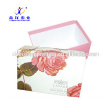 Пользовательские Красивый Подарок Бумажная Коробка Упаковки, Упаковка Коробки