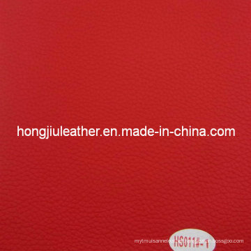 Dongguan Made Synthetic PVC Leather for Saddle (HS012#)