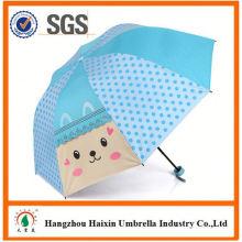 Professional Auto öffnen süß drucken manuell geöffnet Kind Regenschirm