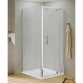 Square Pivot Door Pivot Shower Room Enclosure
