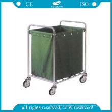 AG-Ss013 Hospital Trolley for Dirty Clothes (with a suspending bag)