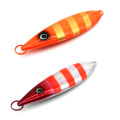 MJL001 New different weight fishing lure artificial bait metal jig lure