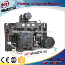 Alta qualidade 4.5kw mini silencioso de 3 cilindros preço barato fabricante chinês pesados tipo de pistão industrial compressor de ar