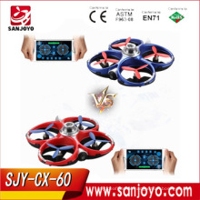 New Arrival Cheerson CX-60 CX60 2.4G 4CH WiFi Infrared Fighting Drones 3D Flips RC Quadcopter SJY-CX60