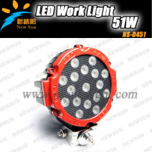 51w LED Work Light Offroad Lamp Fire Engine Police Cars Rescue Vehicle