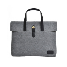 polyester unisex briefcase business hand bag