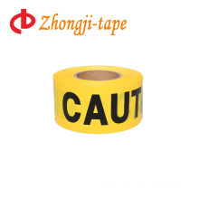 "3"" * 300' pe yellow caution tape"