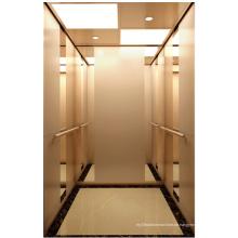 Business-Aufzug mit Rose-Goldenen Spiegel Edelstahl
