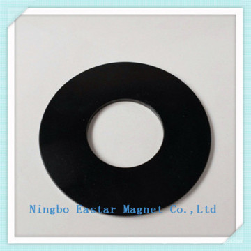 Imán de disco permanente del neodimio N45sh con níquel negro