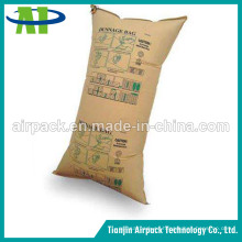 Kraft Paper and PP Woven Dunnage Air Bag para el transporte