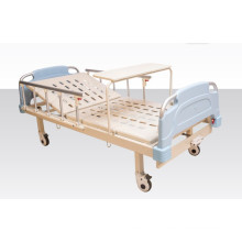 Single Crank Mechancial Hospital Medical Bed with Dinner Board (A-13)