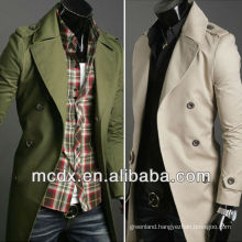 double breasted mens trench coat designs