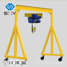 High quality mini gantry crane for construction use made in China