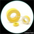 Gelbe und weiße Farbe CT124-26 Weicheisen Spule Powder Cores
