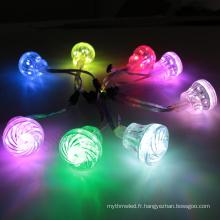 Lumière menée imperméable légère de point du pixel RVB de 45mm DC24V numérique pour l'amusement