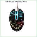 10% Discount Cool Design Colorido 6D LED con cable de ratón óptico del juego (M-65)