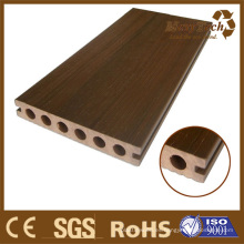 Nueva tecnología Co-Extrusion Hollow Decking 140 * 23mm