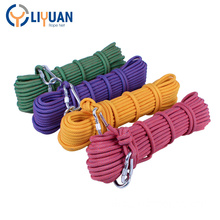 High strength dynamic climbing rope