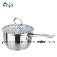 Korea Hot Selling Stainless Steel Noodle Pot/Milk Pot Cookware