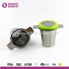 Infuseur de thé de tasse simple d'Amazone de vente chaude pour le thé de feuille en vrac