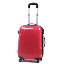 Mala vermelha do trole do caso do curso da beleza da bagagem do PC (HX-W3626)