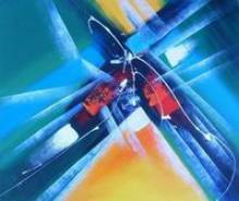 sell abstract oil paintings