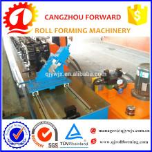 Rolo claro de aço automático do calibre da grade do teto T que forma a máquina