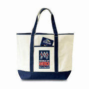 Canvas Leisure Bag for Ads, Shopping, Gifts or Promotions, Available in Various Styles/Colors