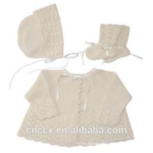 16STC1004 knit cashmere baby set