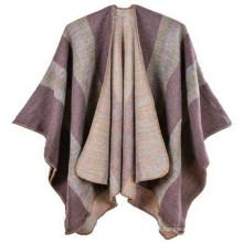 Marca mulheres agradável comprimento total e confortável elegante xales whosale padrão falso turco pashmina xale