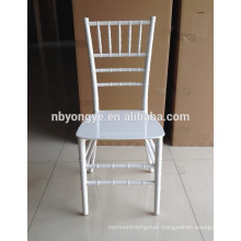 MONOBLOC WHITE RESIN CHIAVARI CHAIR FOR WEDDING
