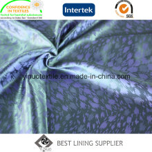 Factory Supply 100% Polyester Jacquard-Futter