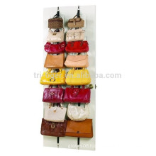 Hanging Closet Door Storage Unit Purse Handbag Belt Scarf Organizer Rack