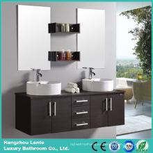 Nuevo gabinete de la vanidad del cuarto de baño con el espejo de plata de 5m m (LT-C001)