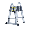 double sided 5m telescopic ladders aluminium with factory cheap price