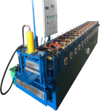 Steel siding wall panel forming machine