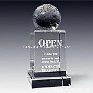 Prêmio de troféu de cristal Império de cristal 1017