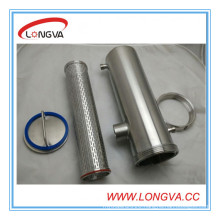 Stainless Steel Insulated Chocolate Pipe Filter