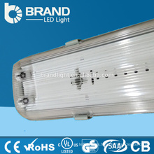 Cubierta plástica 36w 4ft Tubos T8 impermeabilizan la luz Tri-proof del LED para el almacén
