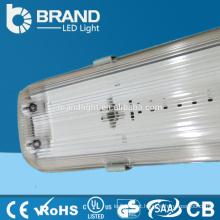 Tampa plástica 36w 4ft Tubos T8 Impermeável LED Tri-prova Luz Para Armazém