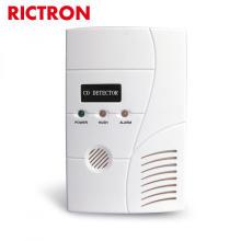 Sensor detector de monóxido de carbono automático