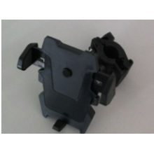 The Car Bracket with ABS and Silica Gel Adjustable Black