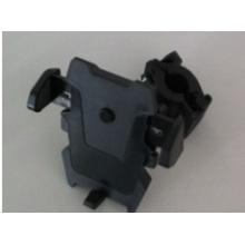 O suporte do carro com ABS e Silica Gel ajustável preto