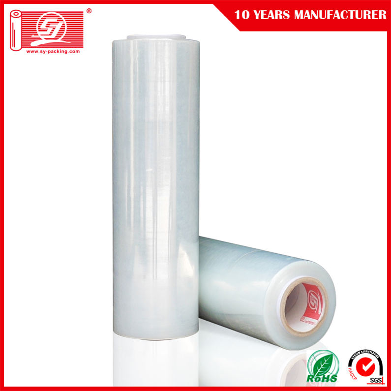 100%25+Pure+LLDPE+Material+for+Machine+Stretch+Film