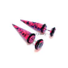 Neueste Mischfarbe Acryl Ohr Stretcher Piercing