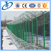 Galvanized or PVC coated razor wire