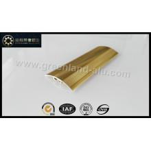 Glt156 revestimento de madeira de alumínio Trims com ouro anodizado