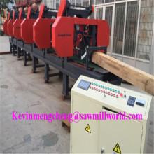 CNC automatique scie à ruban haute précision 6 têtes bois scie